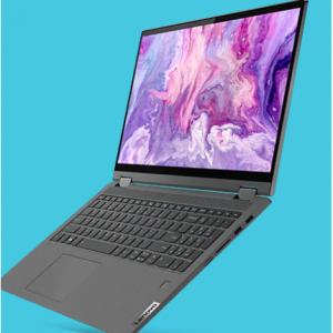 $140 Off IdeaPad Flex 5 15 (Intel) 2 in 1 laptop(Intel i7, 8GB , 512GB) @Lenovo