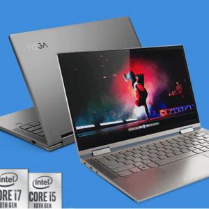 """Lenovo - Yoga C740 (14"""")  2合1筆記本(Intel i7, 16GB, 1TB) ,8折"""