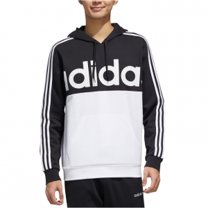 adidas Men's Essentials Colorblocked Fleece Hoodie @ Macy's