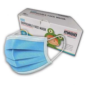 MAGID 一次性3層兒童口罩,50個 @ Amazon
