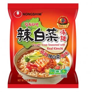 補貨:NongShim 農心辣白菜速食湯麵 16袋裝