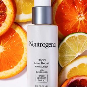 Neutrogena Rapid Tone Repair Face Moisturizer SPF30 @ Amazon