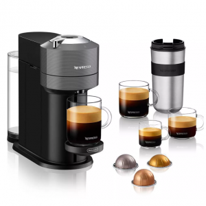 Nespresso Vertuo Next Coffee and Espresso Machine by De'Longhi - Gray @ Target