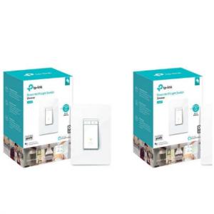 Costco - TP-Link Kasa Smart HS220 Wi-Fi 智能燈光開關 2個裝,直降$20