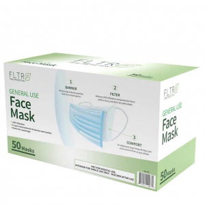 FLTR General Use Face Mask, 50 Disposable Masks @ Costco