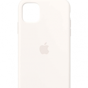 66% off Apple Silicone Case (for iPhone 11) - White @Amazon