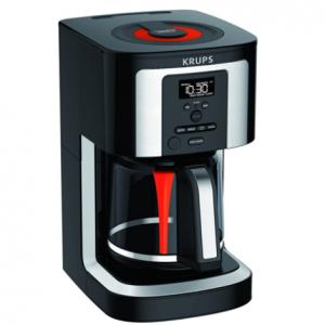 KRUPS 14杯可編程咖啡機 EC322 帶保溫和自動清潔功能 @Amazon