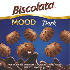 Biscolata Mood Cookies with Chocolate Filling Snacks - 12 Packs @ Amazon