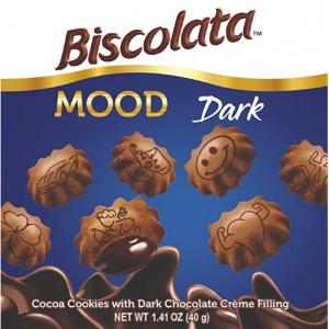 上新:Biscolata 黑巧克力夾心小星星酥脆餅幹 12盒裝 @ Amazon