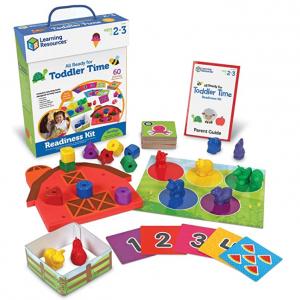Learning Resources 幼儿识数、识颜色早教学习套装,22件 @ Amazon