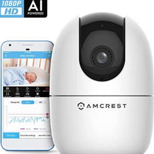 Amazon - Amcrest 1080P 智能家庭WiFi摄像头