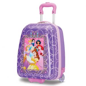 American Tourister 16英寸儿童行李箱,迪士尼公主图案 @ Amazon