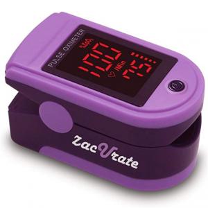 Zacurate Pro Series 500DL Fingertip Pulse Oximeter  (Mystic Purple) @ Amazon