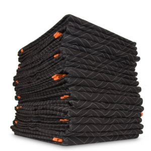 WEN 72-Inch by 80-Inch Heavy Duty Padded Moving Blankets, 12-Pack @ Walmart