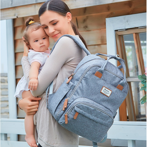 RUVALINO Diaper Bag Backpack @ Amazon