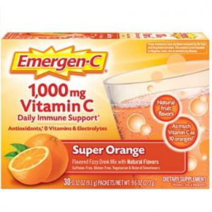 Emergen-C 维生素C补充剂、维C软糖热卖 @ Amazon