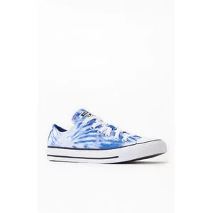 Converse Blue Tie-Dyed Chuck Taylor All Star Low Shoes Sale @ PacSun