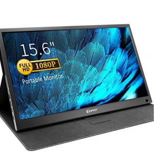"Amazon - Corprit 15.6"" 1080P IPS USB-C 便携显示器"