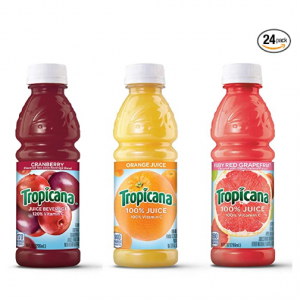 Tropicana 100%果汁3口味綜合裝 10oz 24瓶 @ Amazon