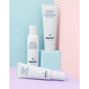 Pipette 孕媽媽護膚套裝特賣,含腹部護理潤膚油+潤膚霜+亮白麵膜