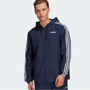 adidas Essentials 3-Stripes Woven Windbreaker Men's @ eBay US