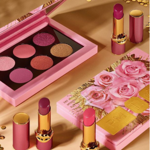 Pat McGrath Labs官网Rose Decadence系列限量新品热卖 收眼影盘 唇膏等