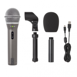 Samson Q2U Recording & Podcasting Pack (Gray) @B&H
