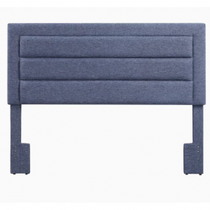 FirsTime FirsTime and Co Gray Full/Queen Linen Upholstered Headboard @ Lowes