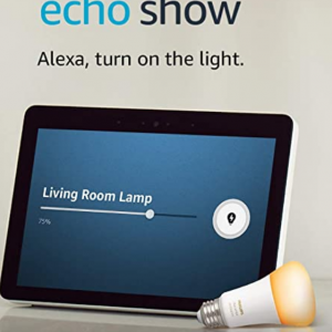 $79.99 off Echo Show (2nd Gen) with Philips Hue Bulb - Alexa smart home starter kit @Amazon