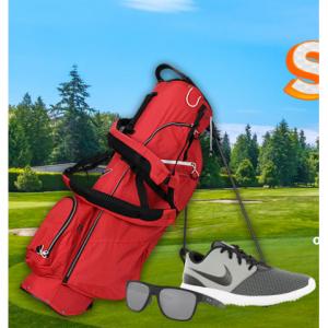 Global Golf 精选高尔夫一号木、推杆、背包等特卖
