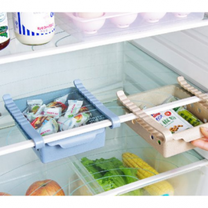 KUDOSALE Kitchen Fridge Sliding Drawer Shelf Storage Box @ Walmart