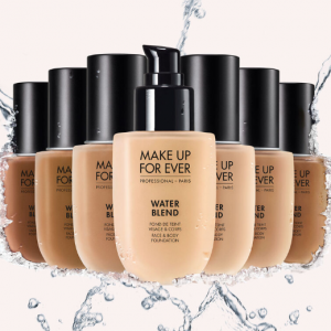 $30.10 (Was $43) For Water Blend Face And Body Foundation @ Make Up For Ever