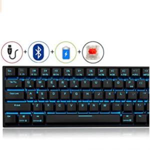 Amazon - RK 71键 LED背光机械键盘 多轴体可选,直降$20