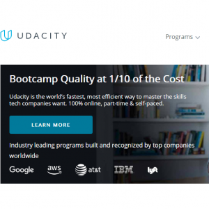 Udacity Free Courses - Python Programming, Data Structures and Algorithms, Nanodegree Programs
