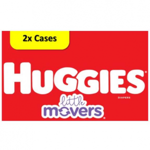 Huggies Little Movers Diapers Economy+ Packs @ Walmart