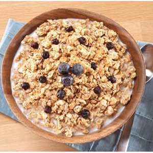 Mountain House Granola with Milk & Blueberries, 10 can @ Amazon