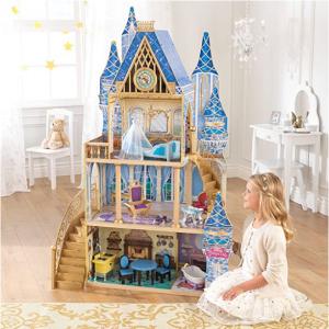 KidKraft 迪士尼公主灰姑娘的夢幻皇宮娃娃屋 @ Amazon