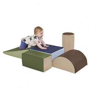 ECR4Kids SoftZone Climb and Crawl Activity Play Set, 5-Piece Set @ Amazon