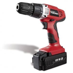 Hyper Tough 18-Volt Ni-cad Cordless Drill, AQ75023G @ Walmart
