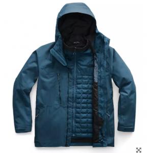 The North Face 北脸男士滑雪服 Thermoball™防水保暖夹克,4折好价