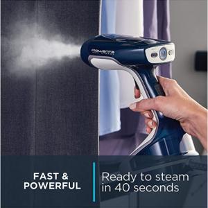 Rowenta DR8120 1600瓦手持式蒸汽熨鬥,帶2個蒸汽選項的不鏽鋼加熱底板 @ Amazon