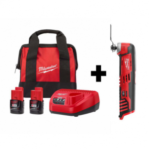 Milwaukee M12 12-Volt Cordless Oscillating Multi-Tool Kit $99 @ HomeDepot