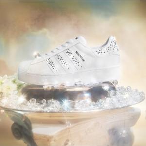 adidas x Swarovski Superstar Bold Shoes