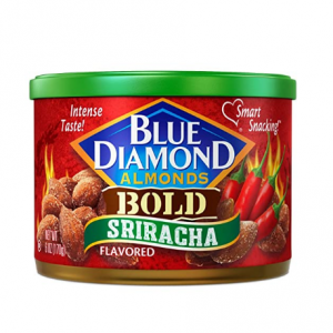 Blue Diamond 无麸质大杏仁 浓郁辣酱口味,6盎司 @ Amazon