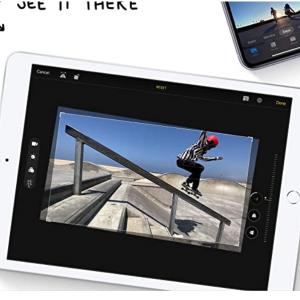 7% off New Apple iPad (10.2-inch, Wi-Fi, 128GB) - Silver (Latest Model, 8th Generation) @Amazon