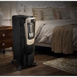 PELONIS 可移动取暖器电热油汀 @ Amazon
