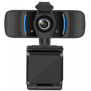 Castries 1080P Webcam with Privacy Cover with Microphone with Noise Reduction $34 shipped @ Amazon