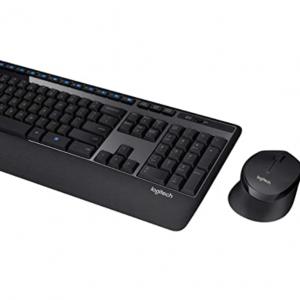 $15 off Logitech MK345 Wireless Combo Full-Sized Keyboard + Palm Rest + mouse @Amazon