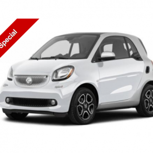 Electric Smart Fortwo Coupe 60kW EQ Passion Advanced only £90.31  per month plus VAT @carleasingma