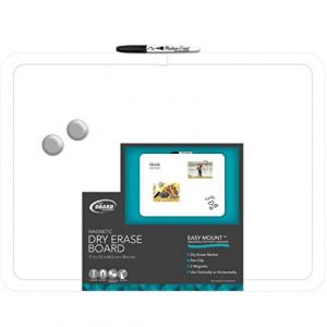 The Board Dudes 白板 带磁铁+白板笔 @ Amazon